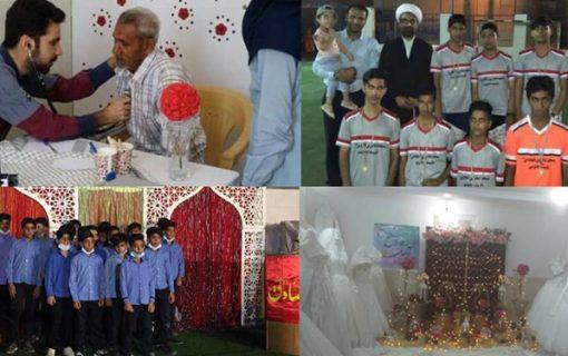 امام محله، پای کار فوتبال بچهها و سفره عقد زوجهای جوان