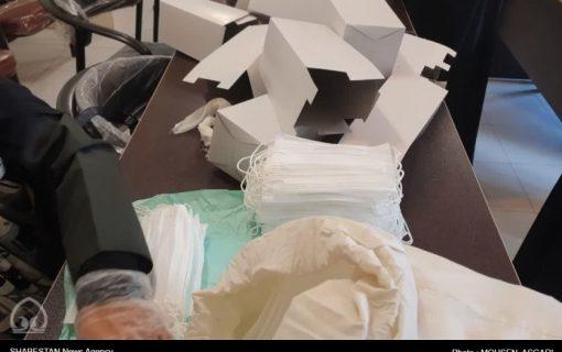 توزیع ۷ هزار بسته معیشتی و تولید روزانه ۱۵ هزار ماسک برای محرومان به همت مسجدیها