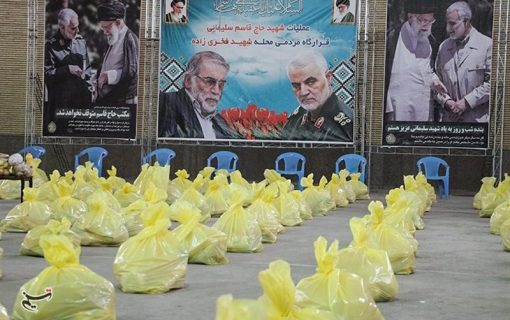 همدلی ۱۴ مسجد محله شهید باقدرت کرمان در عملیات حاج قاسم