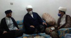 تجلیل از حجت الاسلام هاشمی فخر امام محله و  قهرمان بین المللی مسابقه خطابه قران کریم