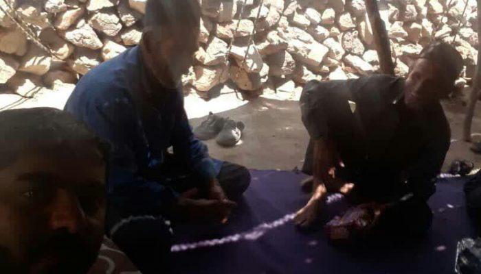 فعالیت امام روستای کاوند درویشان