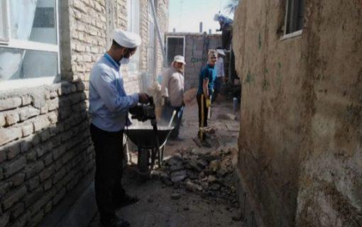 حمایت از نیازمندان و بازسازی خانههای مناطق محروم
