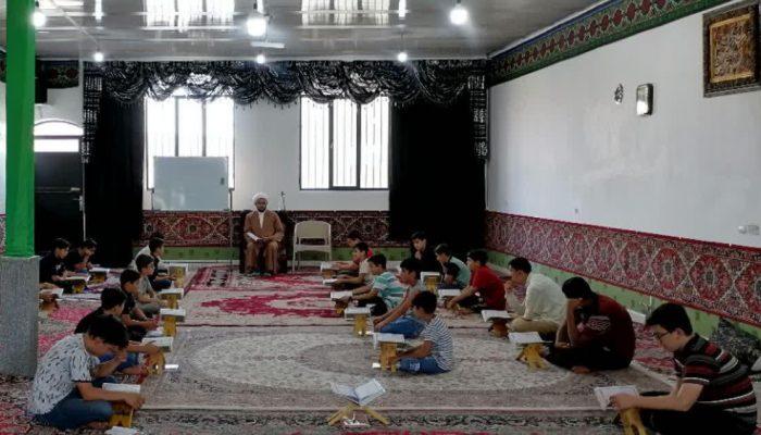 کلاس آموزش و روخوانی قرآن