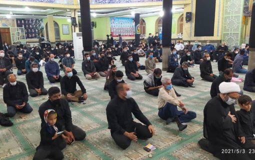 فیلم | پیشتازی مسجدیها دررعایت شیوهنامههای بهداشتی برگزاری عزاداریها