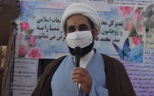 لبیک ۱۱۰ امام جماعت استان بوشهر به «مهرواره اوج»