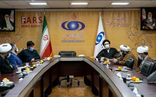 دیدار مدیرعامل بنیاد هدایت با مدیرعامل خبرگزاری فارس